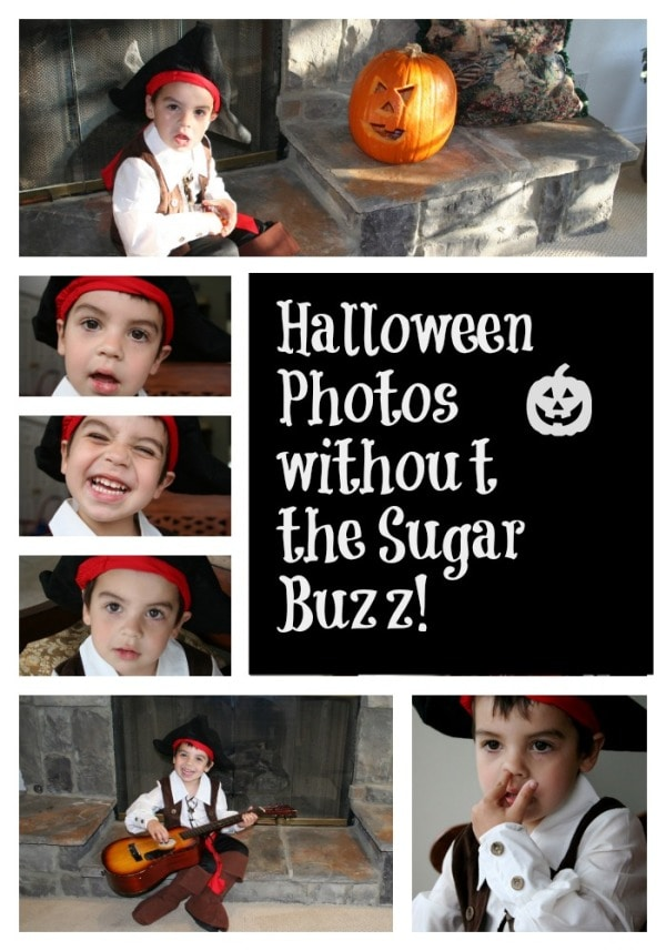Halloween Photos without the Sugar Buzz