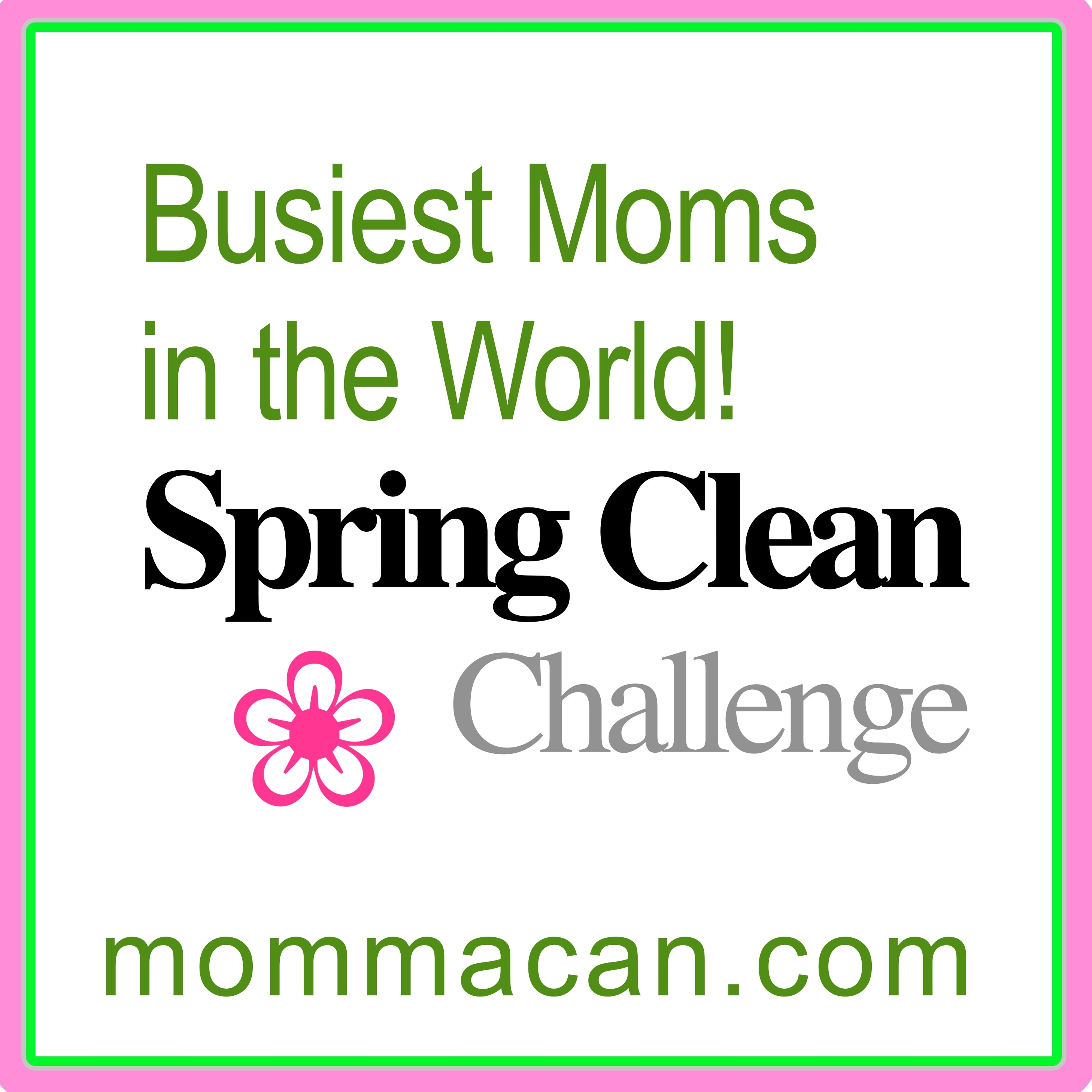 Busiest Moms in the World Spring Clean Challenge Master Bedroom – Weekend Assignments