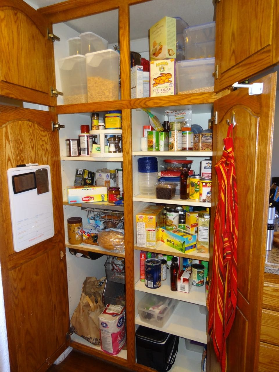 Pantry Progress – Kissing My Pantry Blues Goodbye – Before and After Photos