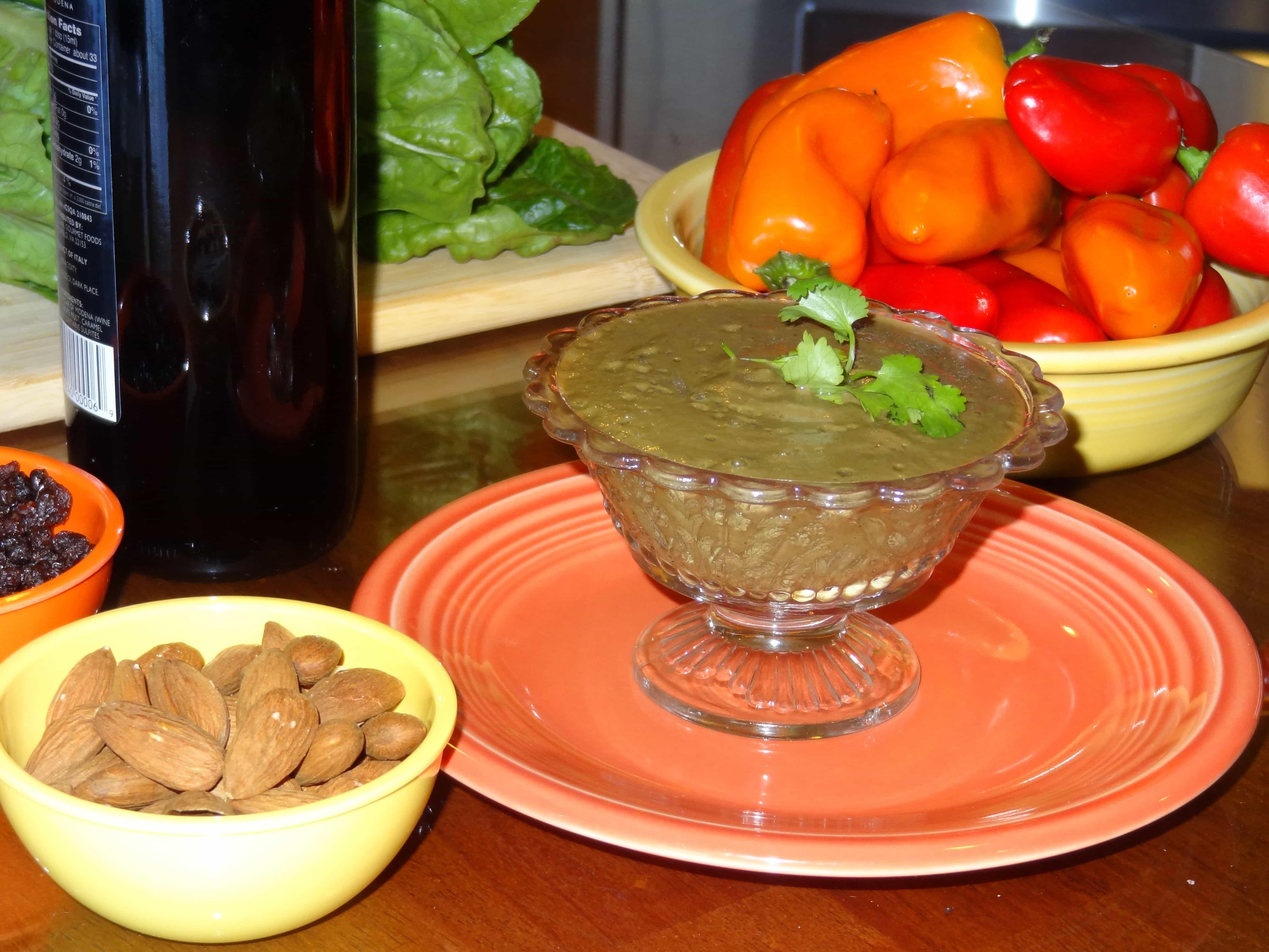 Recipe: Cilantro-Currant Vinaigrette
