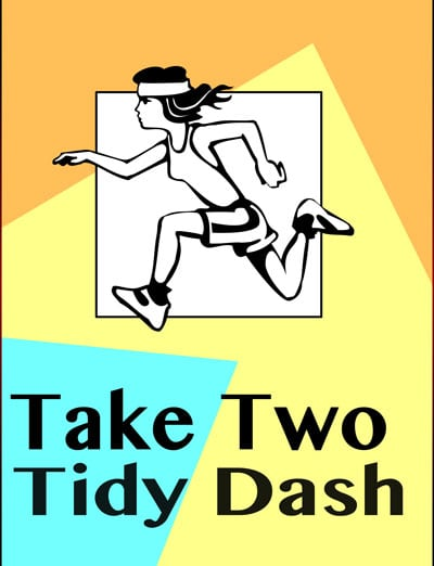 Two Minute Tidy Dashes on Facebook Today- For Busy Moms