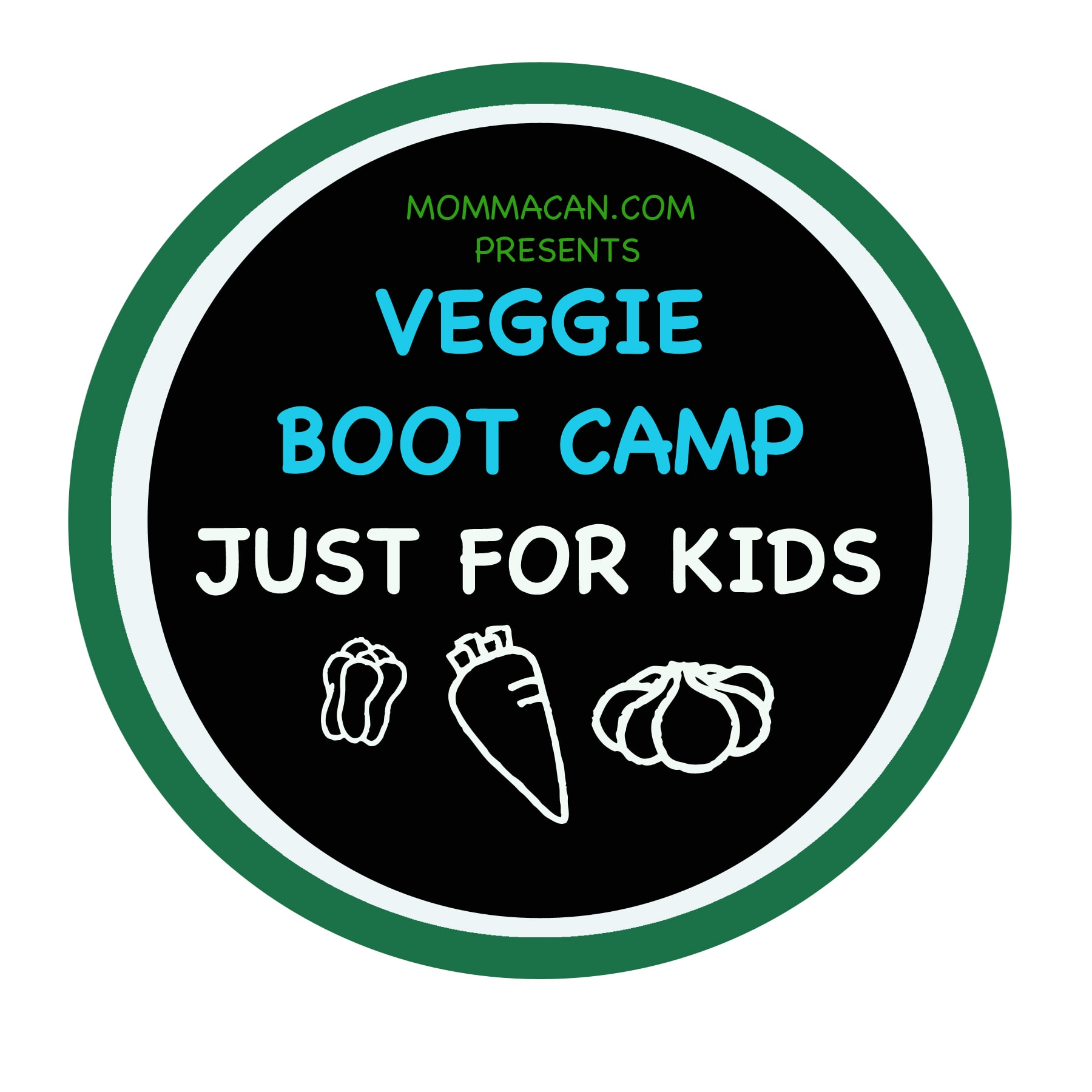 Veggie Boot Camp Just for Kids – Kick Off- Camp Rules
