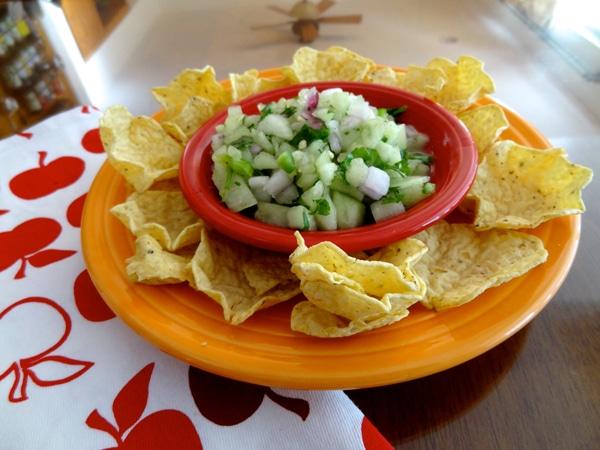 Honey I do Love Salsa –  Kickin' Good Honeydew Salsa Recipe