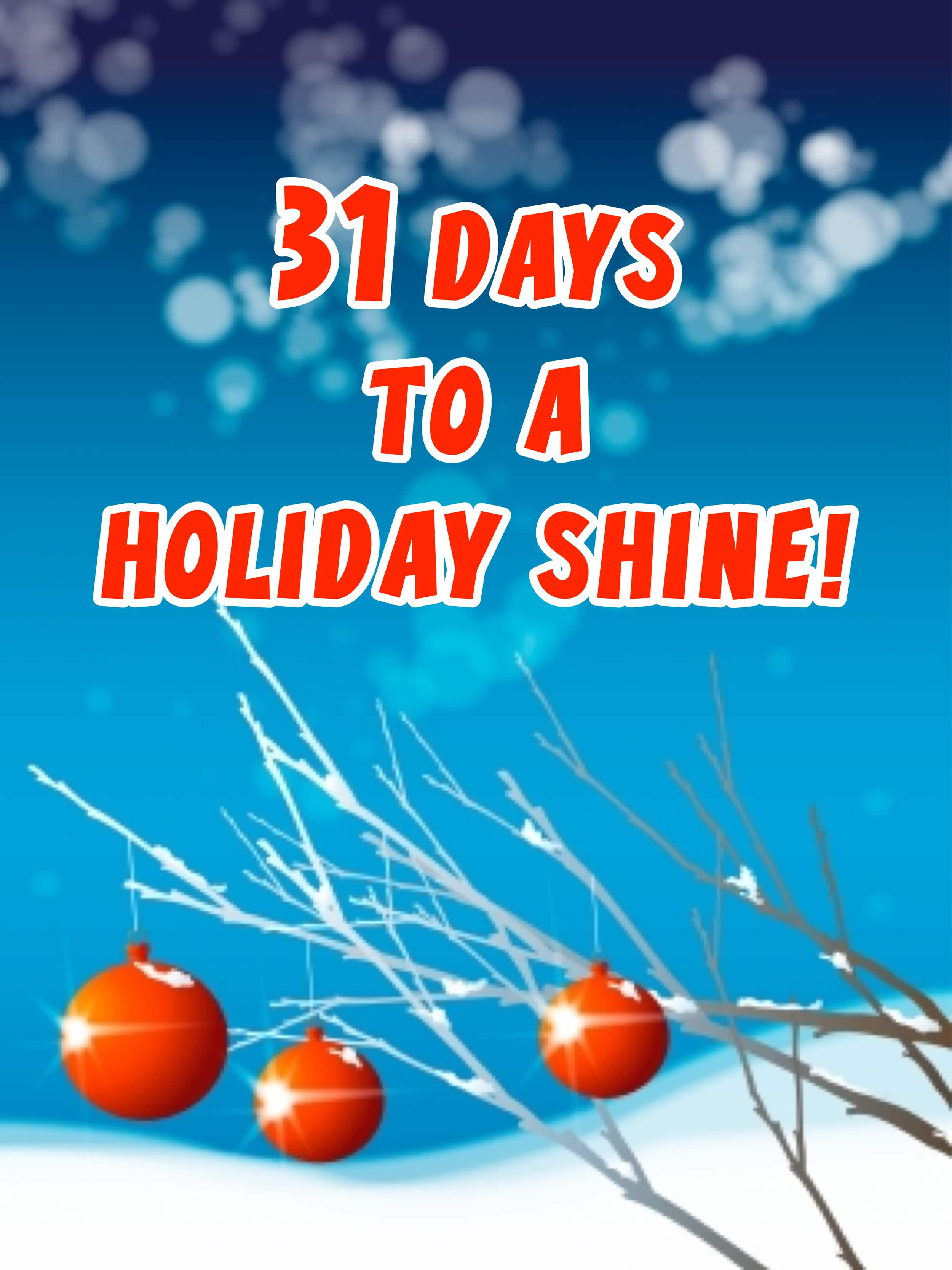Holiday Shine Challenge 2012 Day 14 – Traveling Day