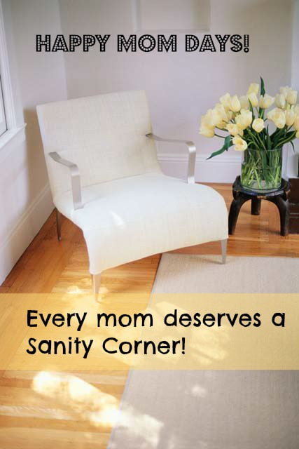 The Sanity Corner – We All Need One