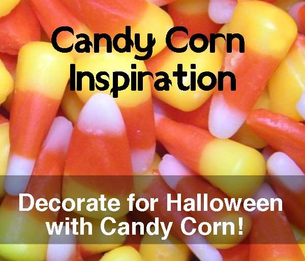 candy corn decorating