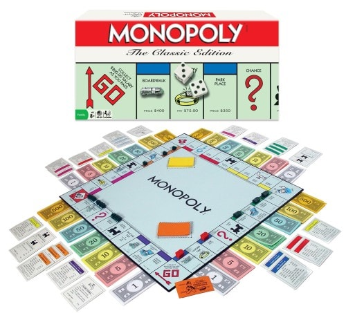 family game night monopoly