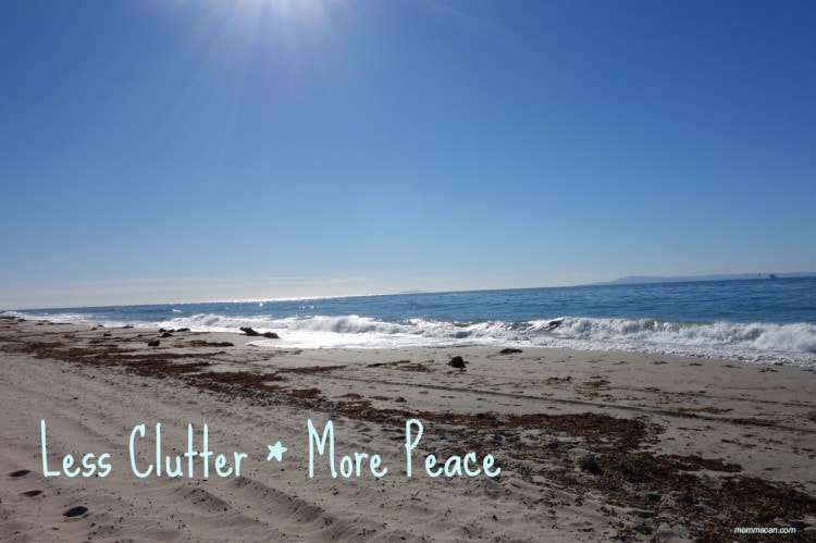 less clutter more peace more time