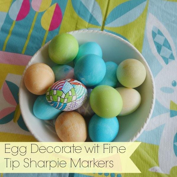 sharpie marker egg