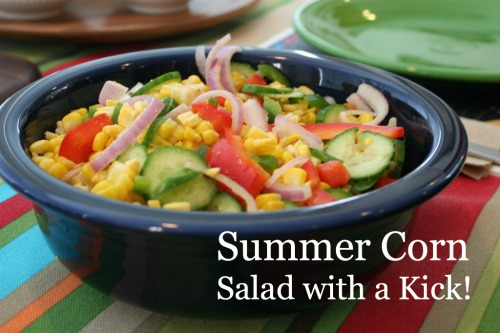Summer Corn Salad with a Kick