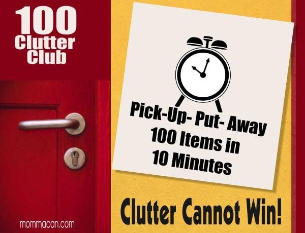 100 Clutter Club - Clutter Cannot Win