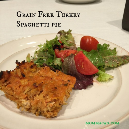recipe for grain free paleo pie