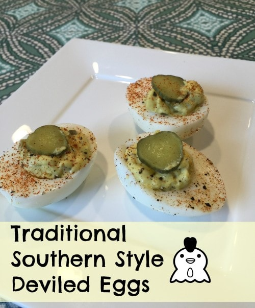 Traditional Southern Style Deviled Egg Recipe