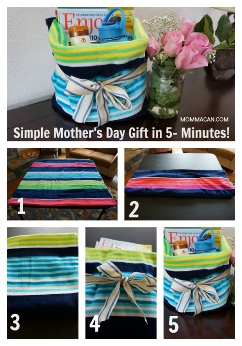 Easy Mother's Day Gift 5 minutes PIn now to view later. So easy! Mother's Day in a Snap!