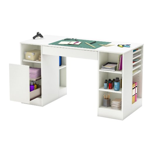 10 Bright and Cheerful Craft Rooms for Paper Art and More!