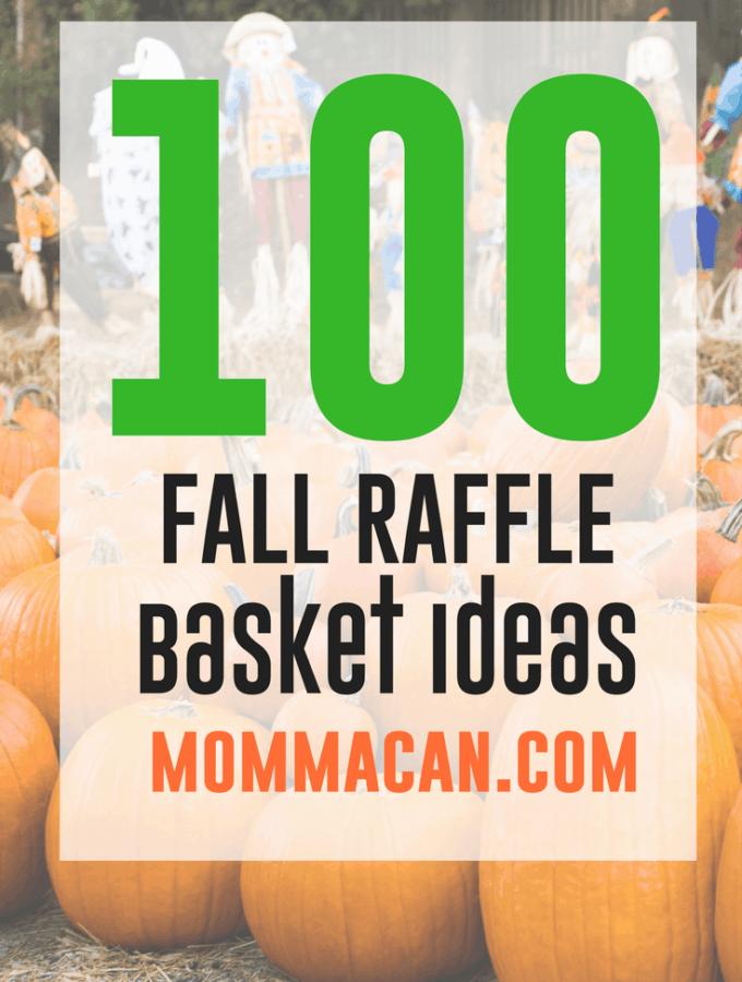 100 Fall Festival Raffle Basket Ideas – Auction Basket List