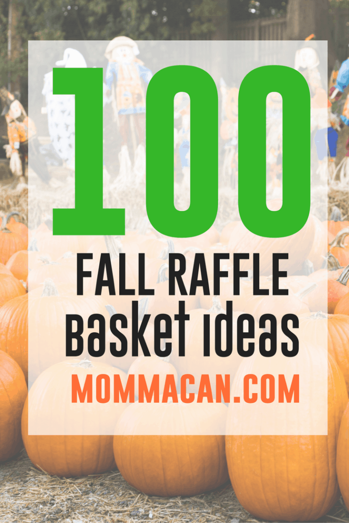 100 Fall Festival Raffle Basket Ideas Auction Basket