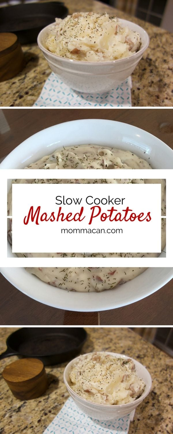 Recipe: Slow Cooker Mashed Potatoes