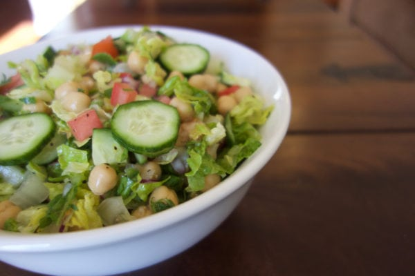 Easy Recipe for Spicy Chopped Salad