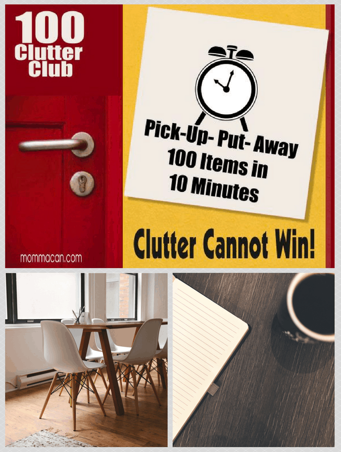 100 Clutter Club – Because Clutter Causes Stress