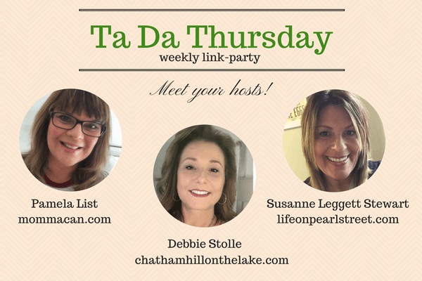 Ta Da Thursday Weekly Link Party