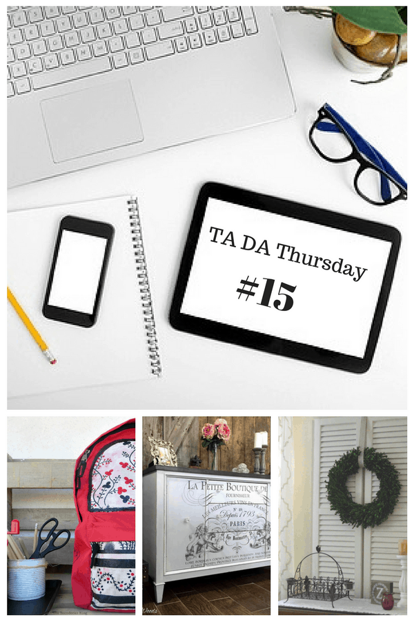 Welcome to TaDa! Thursdays Link Party #15