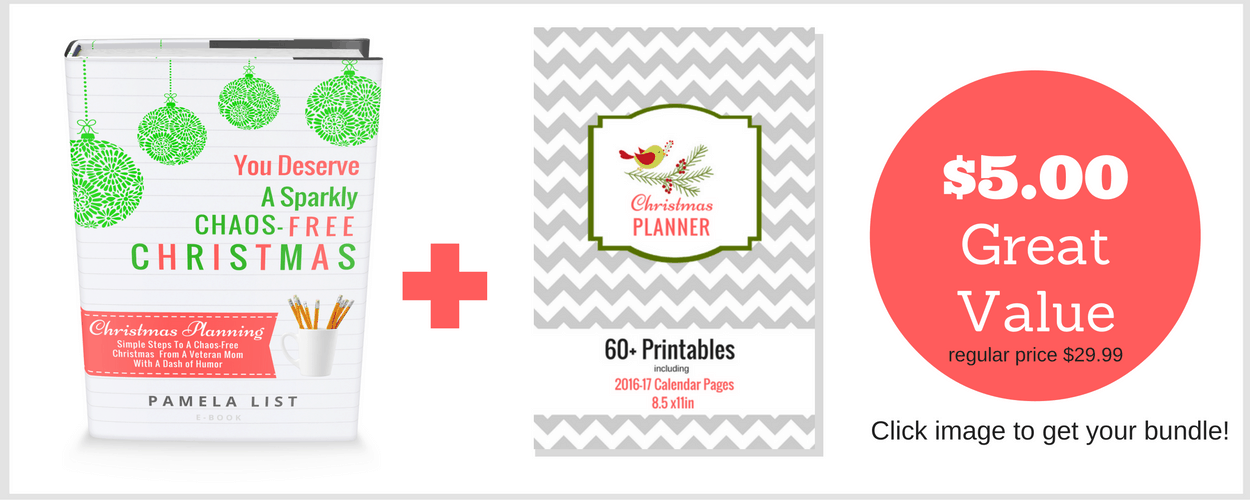 Christmas Planning Printable and EBOOK