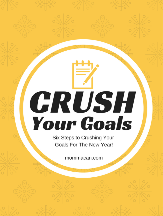 Six Steps To Crushing Your Goals in 2017