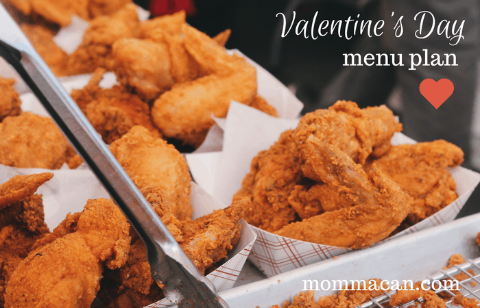 Come take a pick what this Southern Gal serves her Calironia husband for Valentine's Day!
