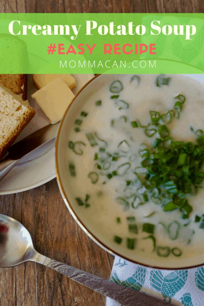 Easy Creamy Potato Soup Recipe