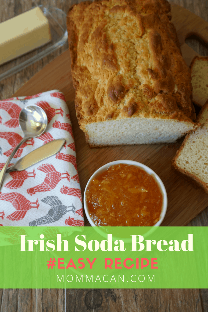 Easy Irish Soda Bread Recipe, so simple yet so darn yummy!
