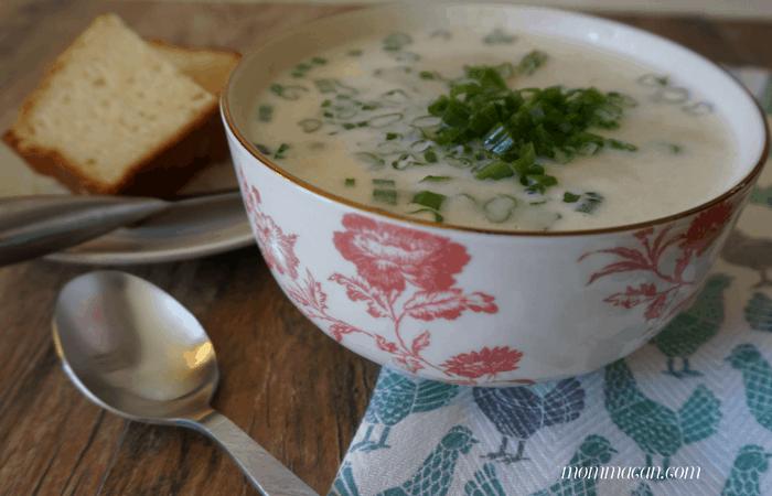 Super Simple Recipe for Creamy Potato Soup