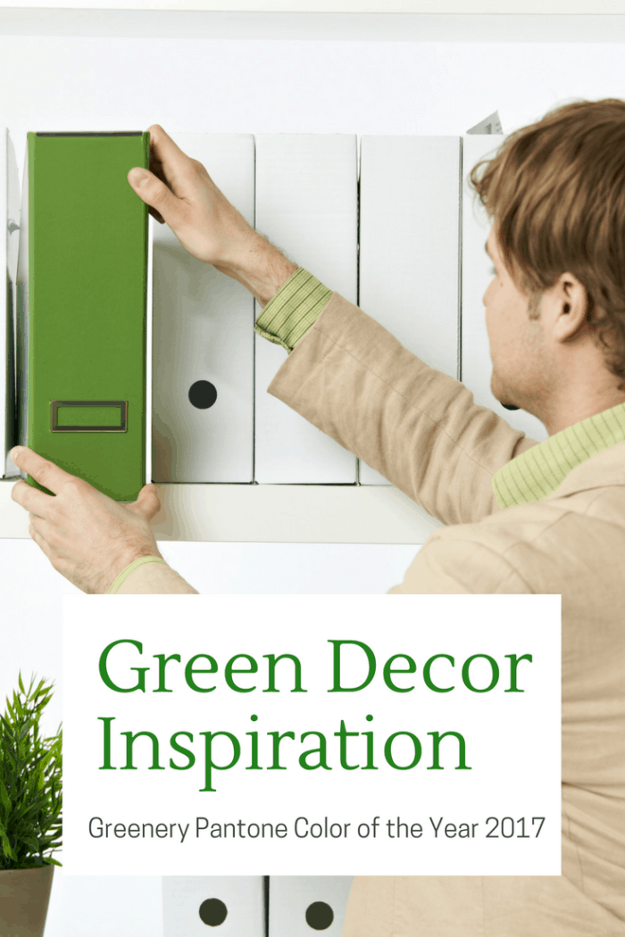 Greenery Pantone Color of the Year 2017 - Grab some inspiration.