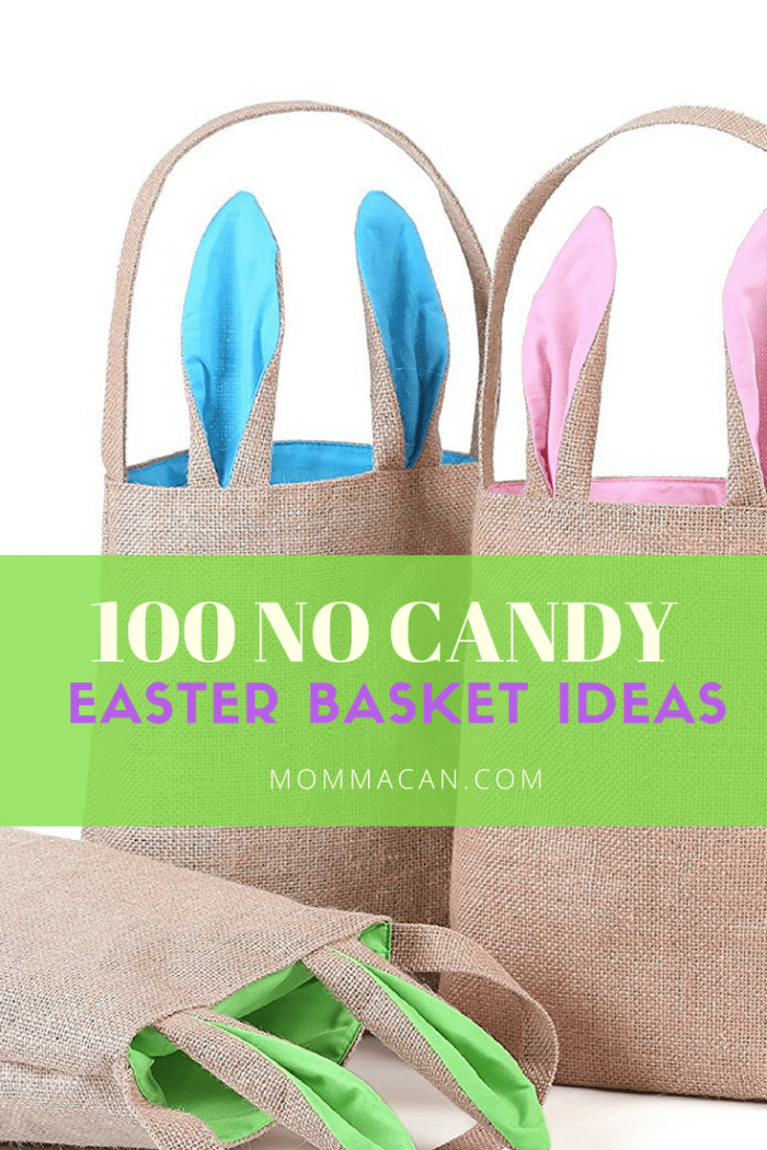 Check out this list of 100 Easter Basket Stuffer Ideas ( No Candy)