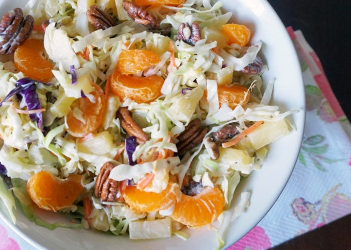 Pineapple Orange Coleslaw Recipe