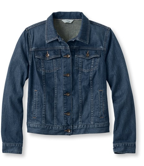 Jean Jacket a travel must.