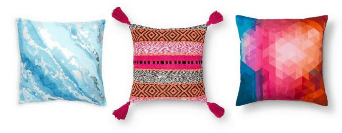 Teen Bedroom and Dorm Room decorative pillows.-2