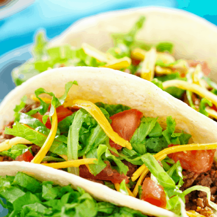 yummy tacos for the taco bar