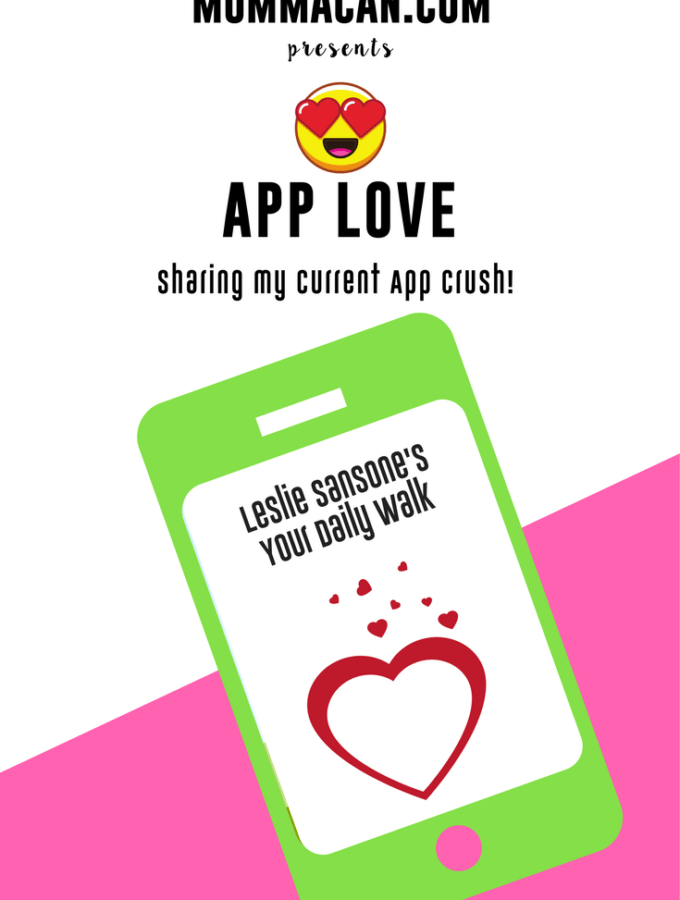 Find out my latest Busy Mom App Crush. Get your body moving with Leslie Sansone's awesome Your Daily Walk App. FInd out right now why I love it!