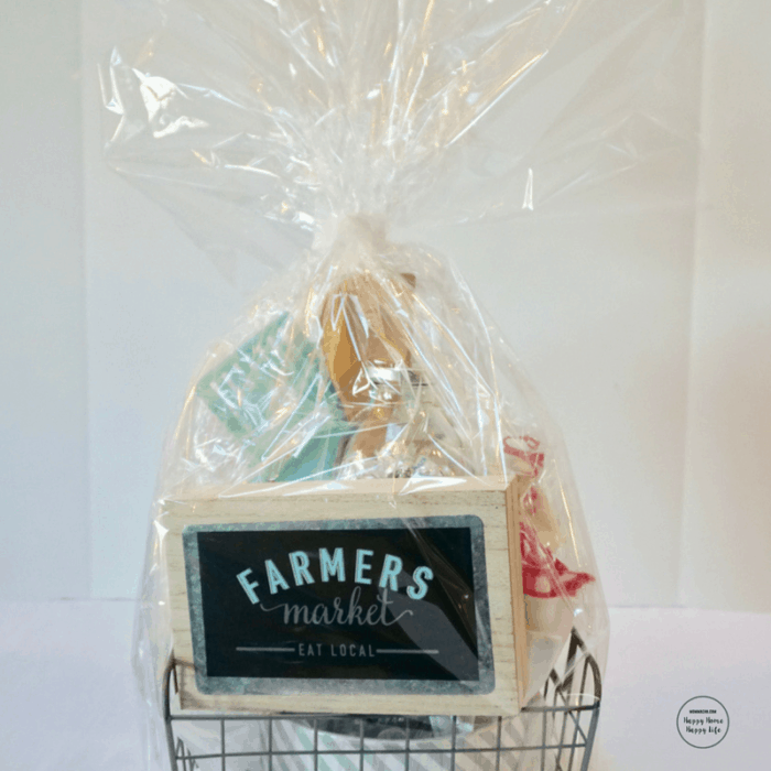Make the perfect gift basket for you raffle