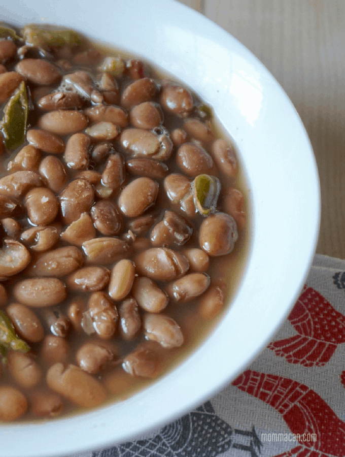 No Soak Vegan Pinto Beans Recipe