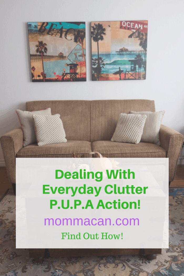 Learn how to deal with everyday clutter.