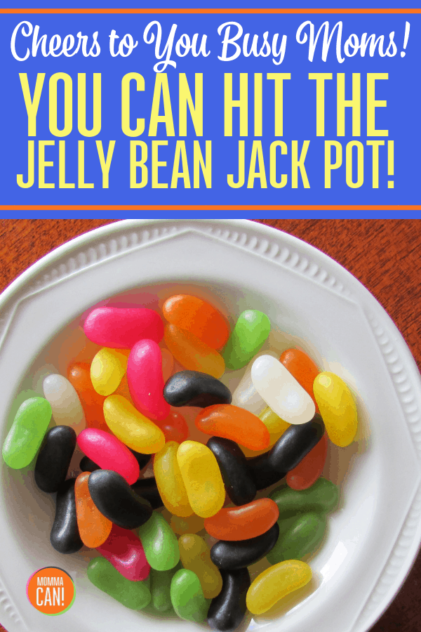 Life is tough, but that is okay. Sometimes the beans we get are not so tasty. But with hard work and dedication we can win the Jelly Bean Jackpot!
