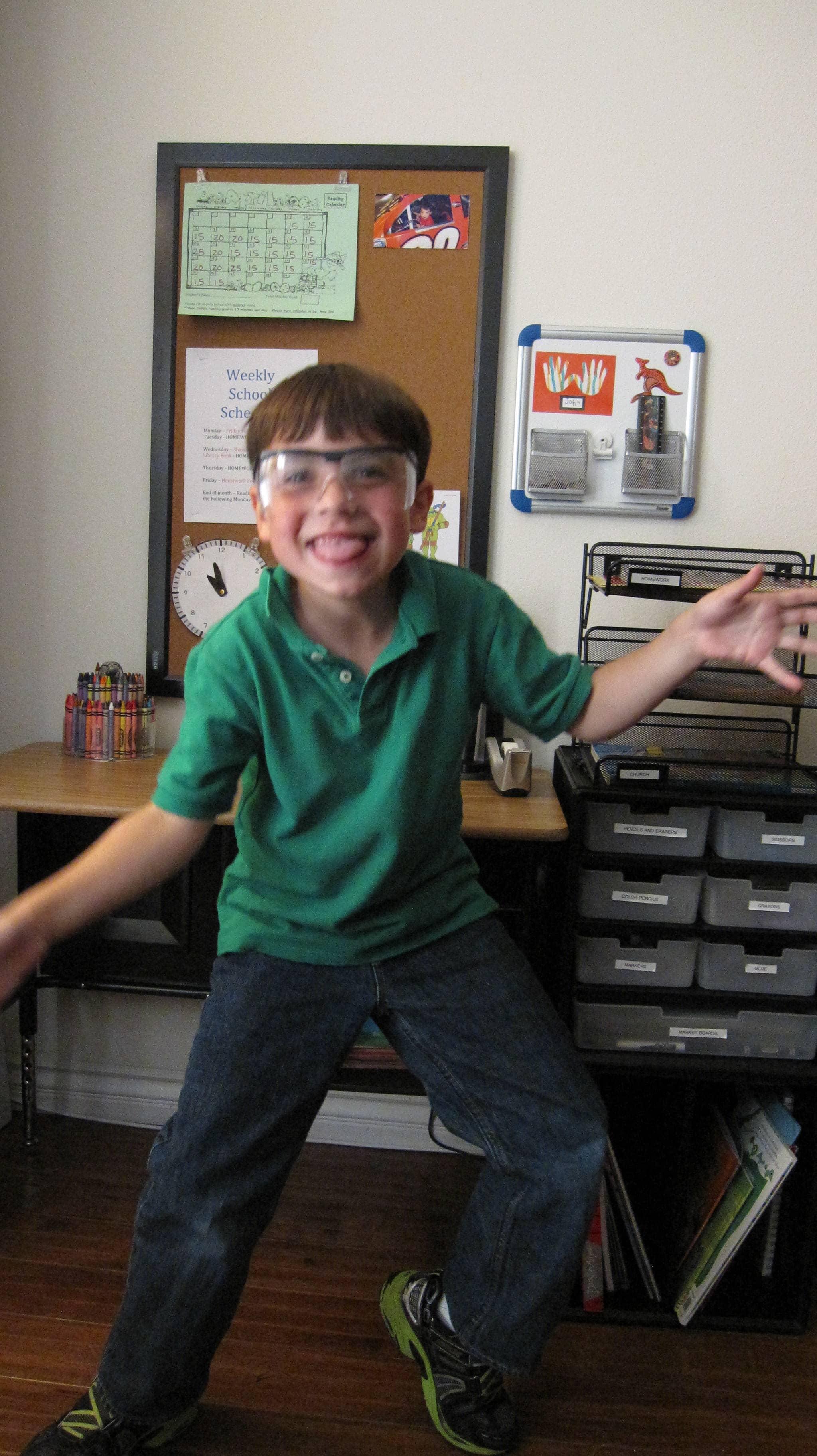 Magical Mornings – A Little Boy's Closet Organizer