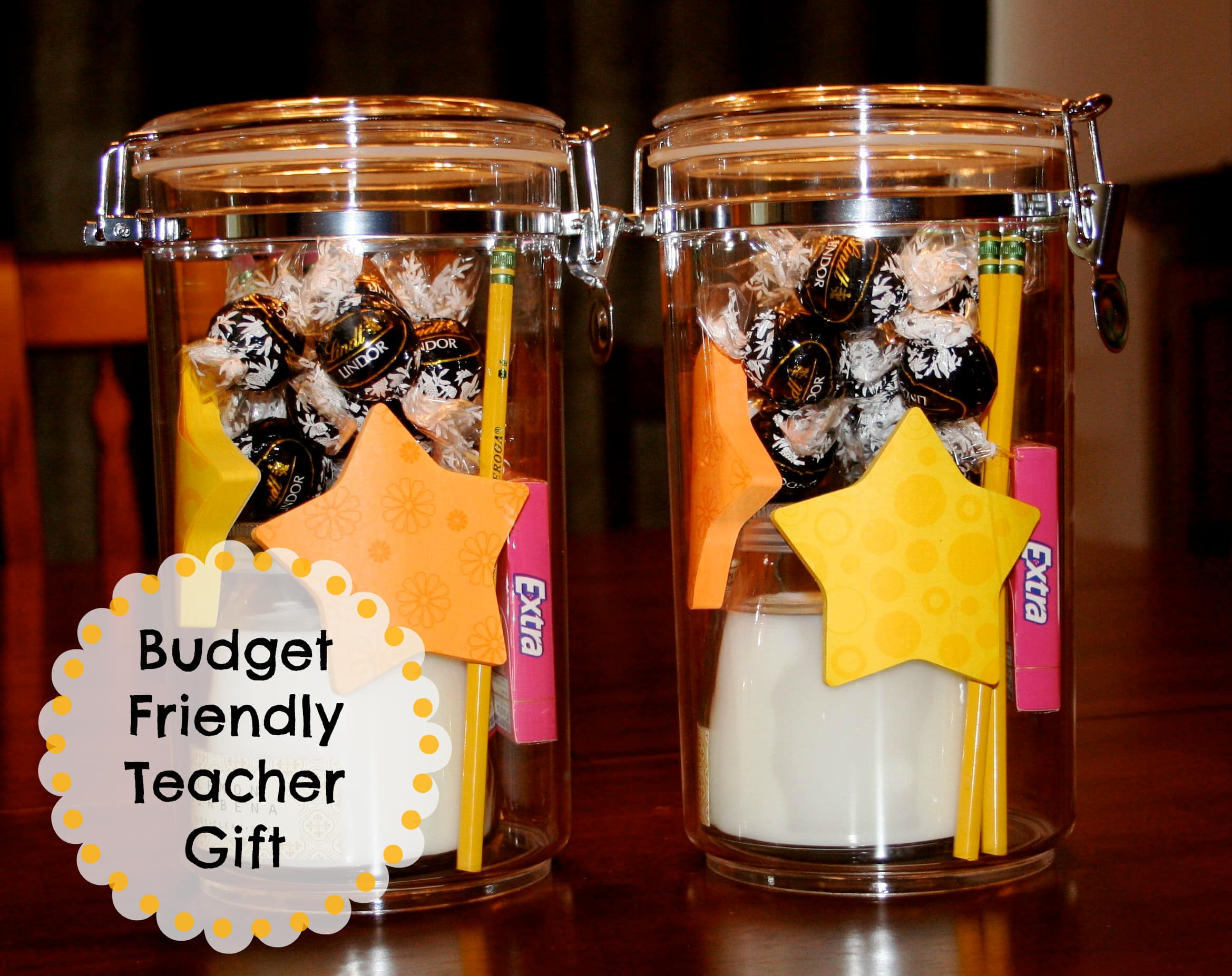 Simple, Easy and Budget Friendly Teacher's Appreciation Gift