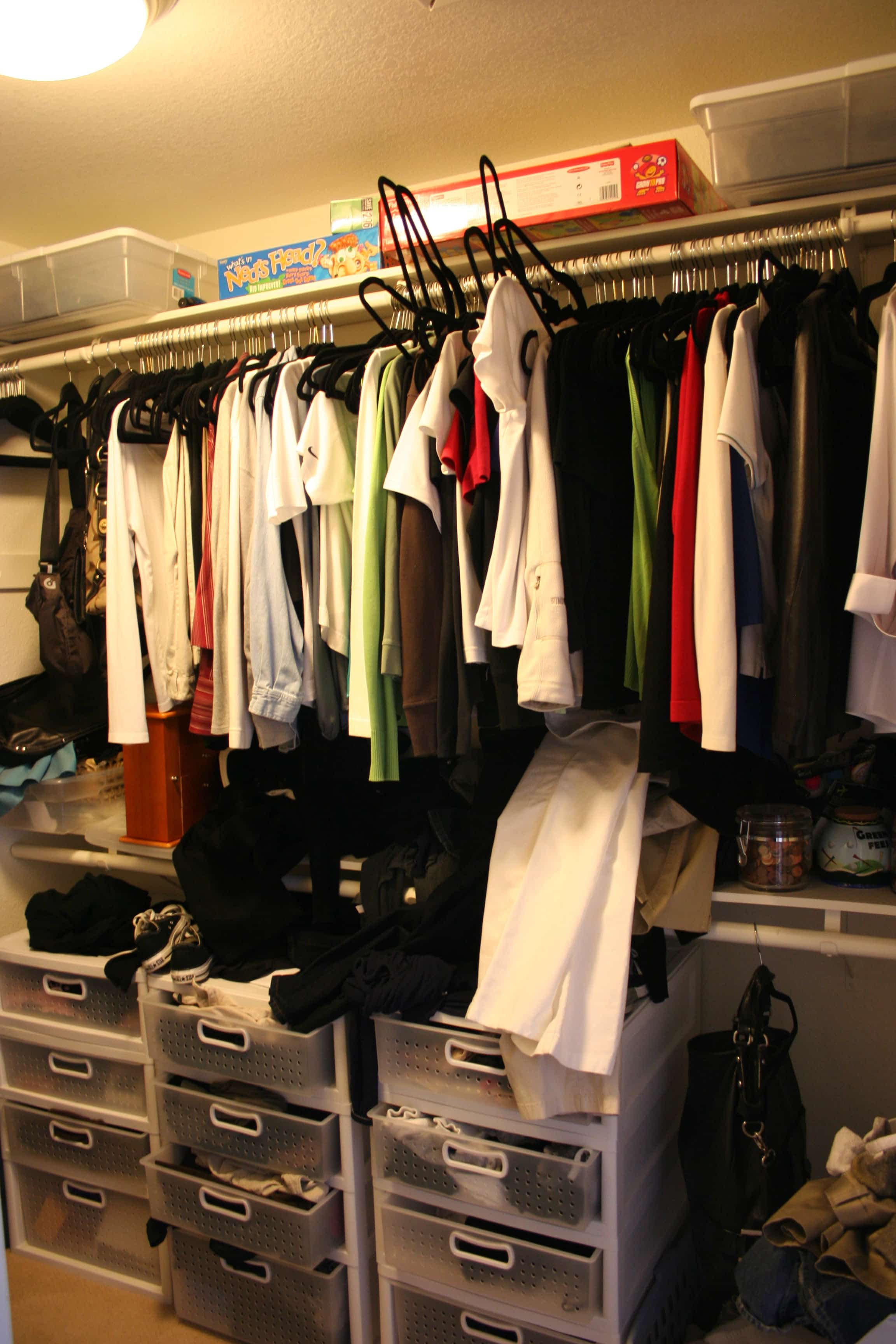 Don't Judge Me By My Messy Closet