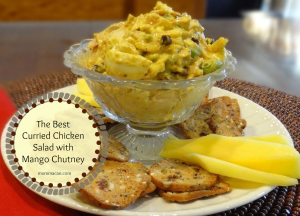 the best curried Chicken Salad
