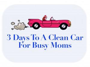 3 days To A Clean Car