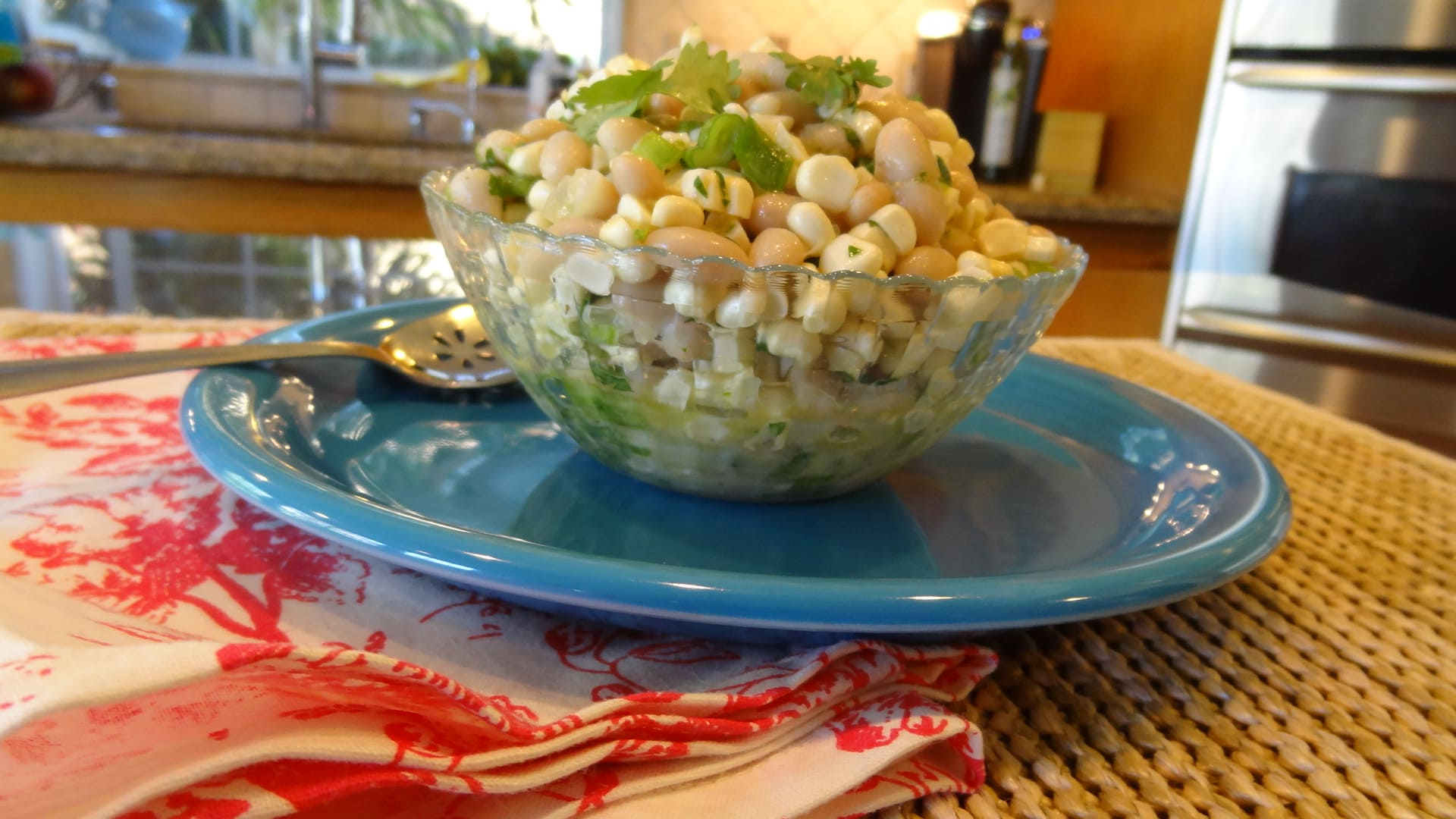 Recipe: Corn and White Bean Salad : The South Meets California