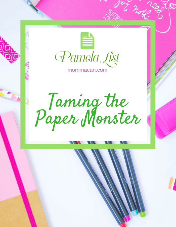 Do this Simple Daily Challenge and tackle paper clutter today!